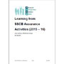 Learning from SSCB Assurance Activities 15-16